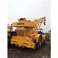 used Grove RT-750 50ton terrian crane for sale,(200ton,130ton)