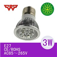 led spot light mr16 220v with CE Rohs,3 years warranty
