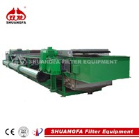 SF vacuum belt filter press - sludge dewatering filter press machine