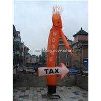 Advertising inflatable sky dancer air tube man