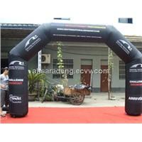 Small outdoor inflatable advertsing archway
