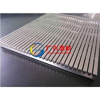 wedge wire flat panel screens