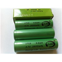 US18650 VTC5 30A 2600mAh rechargeable battery
