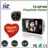 2.4GHz digital 3.5 inch TFT color Clear night vision door peephole viewer