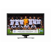 42-inch LED TV, Supports HDMI, USB, VGA, AV-in/-out, YPbPr and DVB-T, Super-slim Design