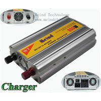 800W Power Inverter with Charger AC Converter Car Inverters Power Supply Watt Inverter Car Charger
