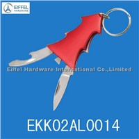 Promotional Christmastree Keyring Knife (EKK02AL0014)