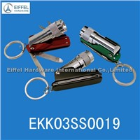 LED torch keychain tool ,different color available(EKK03SS0019)