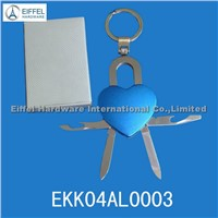 Heart shape Keychain knife(EK04AL0003)