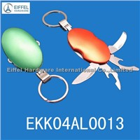 Promotional keyring knife,Different color available (EKK04AL0013)