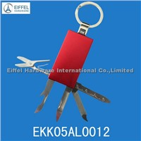 5 in 1 keyring knife , different color available (EKK05AL0012)