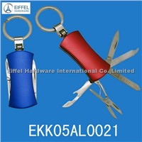 6 in 1 Keychain knife , Different color available (EKK05AL0021)