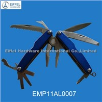 Hot sale multi tool with aluminium handle/closed size 8.7cm L(EMP11AL0007)