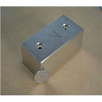 Industry permanet rare earth strong high quality motor block square rectangle magnet magnetic