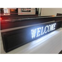 P10 monochromatic white color LED Displays