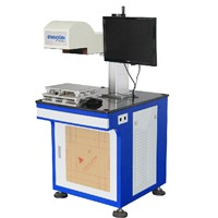 suzhou automatic 20W / 50W ooi laser marking machine