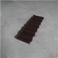 corrugated sands metal roof tiles for villa