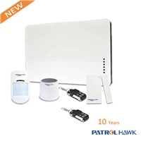 stable quality GSM alarm system with wireless wired zones