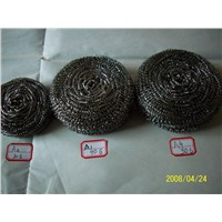 stainless steel scourer  galvanized wire scrubber