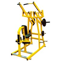 Iso-Lateral Wide Pulldown Hammer strength machine