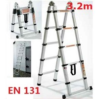 3 position telescopic ladder 3.2m