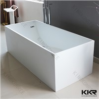 Rectangule Solid Surface Stone Bathtub