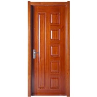 MDF molded wooden door