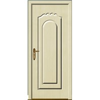 WPC door for interior decoration