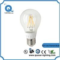 high quality 120lm/w 110/220v e26 e27 b22 filament led bulb 4w