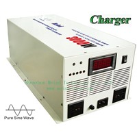 High Quality Pure Sine Wave Built-In Charger Digital Display DC to AC Sufficient 3000W Power Inverter