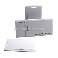 ABS Clamshell ID Card Thick ID Card Proximity Card Identification Card