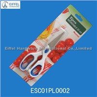 Multi kitchen scissors with blister card packing(ESC01PL0002)