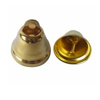 Golden Jingle Bell Iron Material Thickness 1mm Diameter 30 Mm