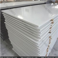 Sonw  white artificial stone acrylic solid surface sheet