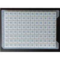 Silicone Sealing Mat for 96 square well plates