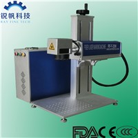 fiber laser marking machine RF-F-20W for plastic switches/hardwares/tools/furnitures