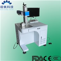 Ring/Tube/Cylinde Fiber Laser Marking Machine RF-F-20W for Metal and Nonmetal Materials