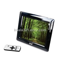 "8"" LCD multifunctional digital photo frame"