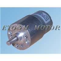 Micro dc geared motor for printer