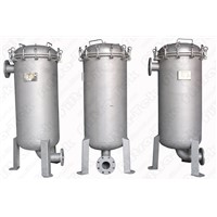 Multi bag filter vessel