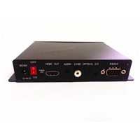 1080P digital signage player  with push buttons Optical output