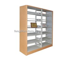 School furniture book storage shelf for library