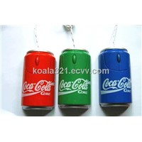 Soda cans gift mouse