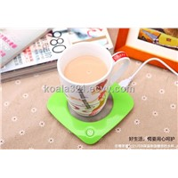 USB heating cup warmer