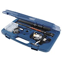 Daiwa Executive Travel Pack Spinning Rod/Reel Kit (ETPSP-CF3iB/WN)