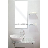glass basin/glass vanity/glass  wash basin/bathroom furniture