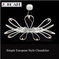 modern design italy style LED sixteen elbow chandelier