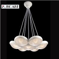 new modern design italy style white color LED vinile chandelier