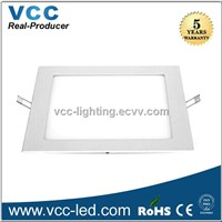Square 20mm height dimmable led downlight, 3W led panel lght