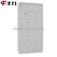 18 Door Metal Shoe Cabinet